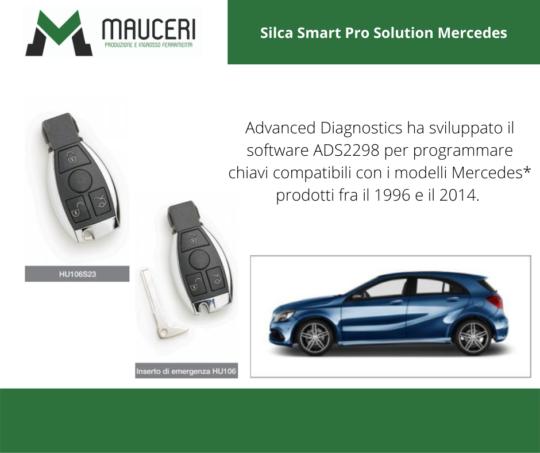 Silca Smart Pro Soluzione Mercedes